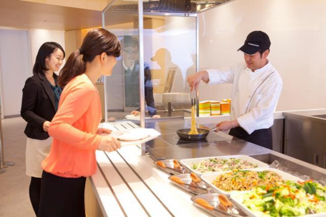 富山八尾中核工業団地内企業社員食堂-5433の画像・写真