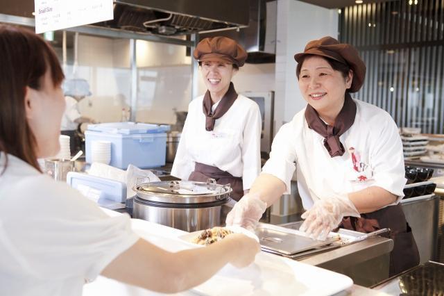 山口県山口市近隣大手企業内社員食堂-1730の画像・写真